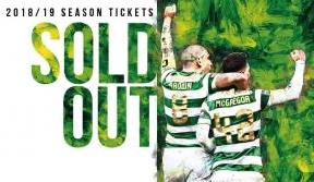 2018/19 Season Tickets Sold Out
