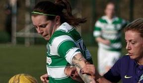 Celtic Women in action v Hibernian this Sunday – show your support