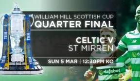 Scottish Cup tickets on sale for Celtic v St Mirren