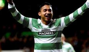 Emilio's delight at his first goal in Paradise