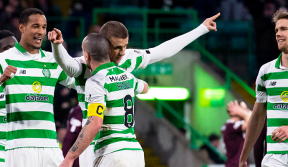 Five-star Celts dismantle Hearts to go 10 points clear