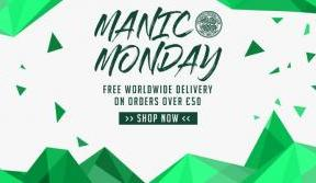 Manic Monday: free worldwide delivery from celticfc.net/store