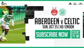 Join us on Celtic TV for more league action v Aberdeen