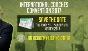 Celtic Academy International Coaches' Convention coming soon