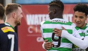 Oko-Flex and Aitchison at the double as Celtic Reserves beat Falkirk