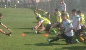 Young Celts prepare for new season in Spanish sunshine
