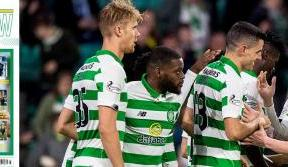 Back to action in this week's Celtic View
