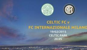 Celtic v Inter Milan Tickets on sale from this Wednesday