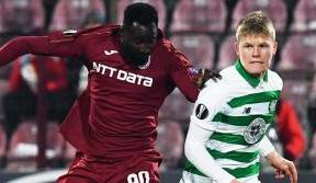 Celts lose out in Europa League clash with Cluj