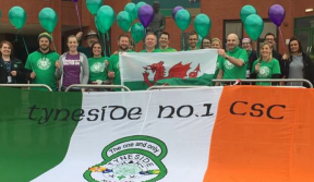 Walking from Wales to Paradise in memory of a special Celt