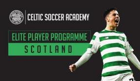 Train with Celtic's future stars at our elite player programme
