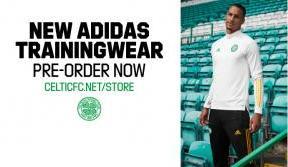 Pre-order the stunning adidas x Celtic FC trainingwear now