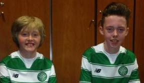 Young Bhoys Pearse and Anton secure their seats in Paradise for 2015/16