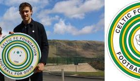 Marc makes his mark for Celtic FC Foundation's Badge Day