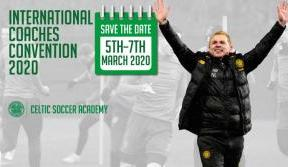 Neil Lennon confirmed for 2020 International Coaches' Convention