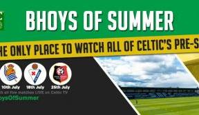 All five pre-season matches – only on Celtic TV