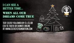 All the ways to donate in Celtic FC Foundation's Christmas Appeal