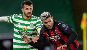 Celts lose UEFA Europa League opener to clinical AC Milan