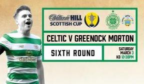 Beat the snow and buy tickets online for Celtic v Morton