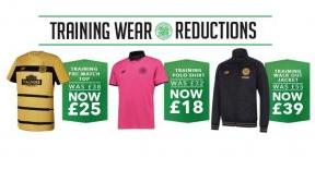 Take advantage of fantastic training kit reductions today