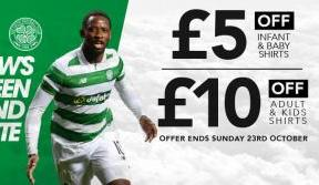 Celtic stores open earlier today