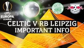 Stadium lightshow to make debut before Celtic v RB Leipzig