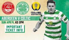 Additional ticket allocation for Scottish Cup semi-final v Aberdeen