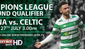 Astana v Celtic live on Premier Sports