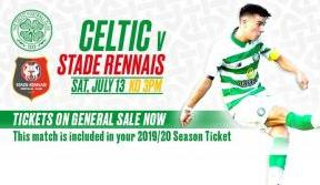 Free Fun For All The Family At Celtic Park For Stade Rennais Friendly!