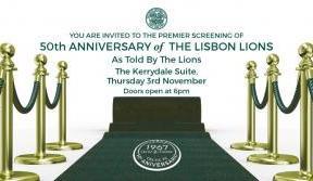 50th Anniversary Film Premiere at Celtic Park