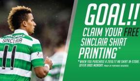 Free Scott Sinclair hero shirt printing offer – ends Monday