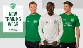 Get your hands on the new green and white training kit