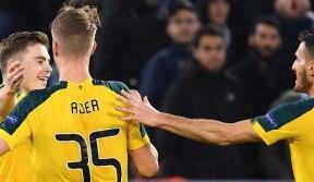 Celts make history on Italian soil to progress in Europa League