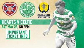 Scottish Cup Final Important Ticket Information