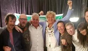 Celtic TV on song for Hoops superfan Rod Stewart