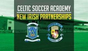 Celtic Soccer Academy partnerships continue to grow in Ireland