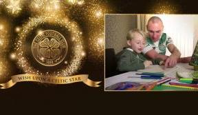 Celtic captain makes Christmas wish come true in new festive film