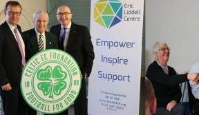 CELTIC FC Foundation link up with Eric Liddell Centre