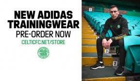 Record-breaking club sales for adidas x celtic fc trainingwear launch