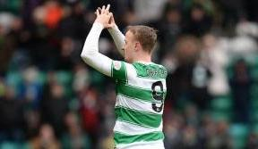 Griffiths reaches 30 goals for the season as Celtic cruise past County