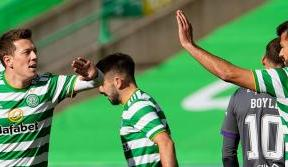 Celtic hammer Hibs in confident Paradise performance