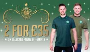 Great gift ideas when you shop with Celtic this Christmas