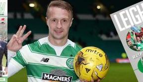 Free giant Leigh Griffiths 40-goal poster in this week's Celtic View