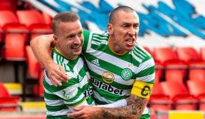 Griffiths marks his return to help Celts defeat St Johnstone
