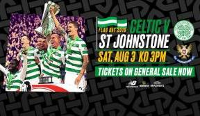 Tickets on sale now for flag day celebrations v st johnstone