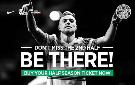 Get your half season tickets now.