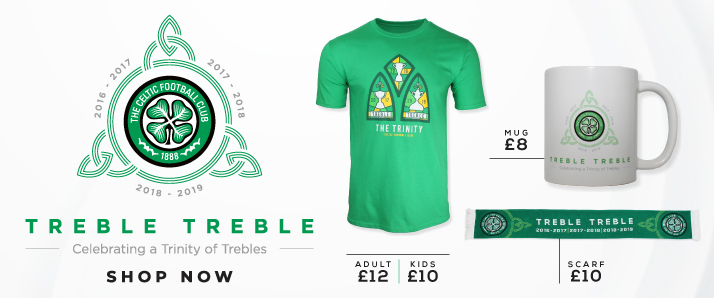64e9738cf Out Now · CTV · Celtic Festival · Treble Treble Shop Now