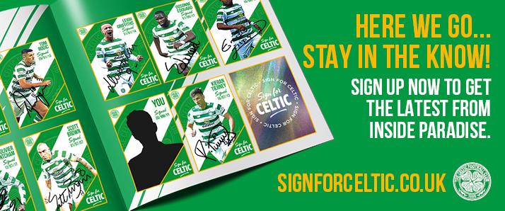 Sign for Celtic