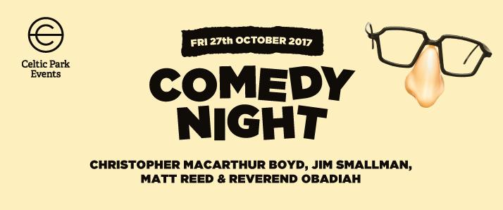 comedy night oct 2017