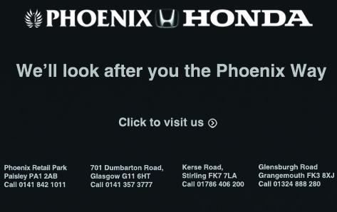 PHOENIX - Honda